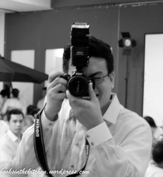 My R with his old Nikon. He is my rock.